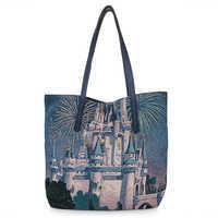 Image of Cinderella Castle Tapestry Tote Bag - Walt Disney World # 1