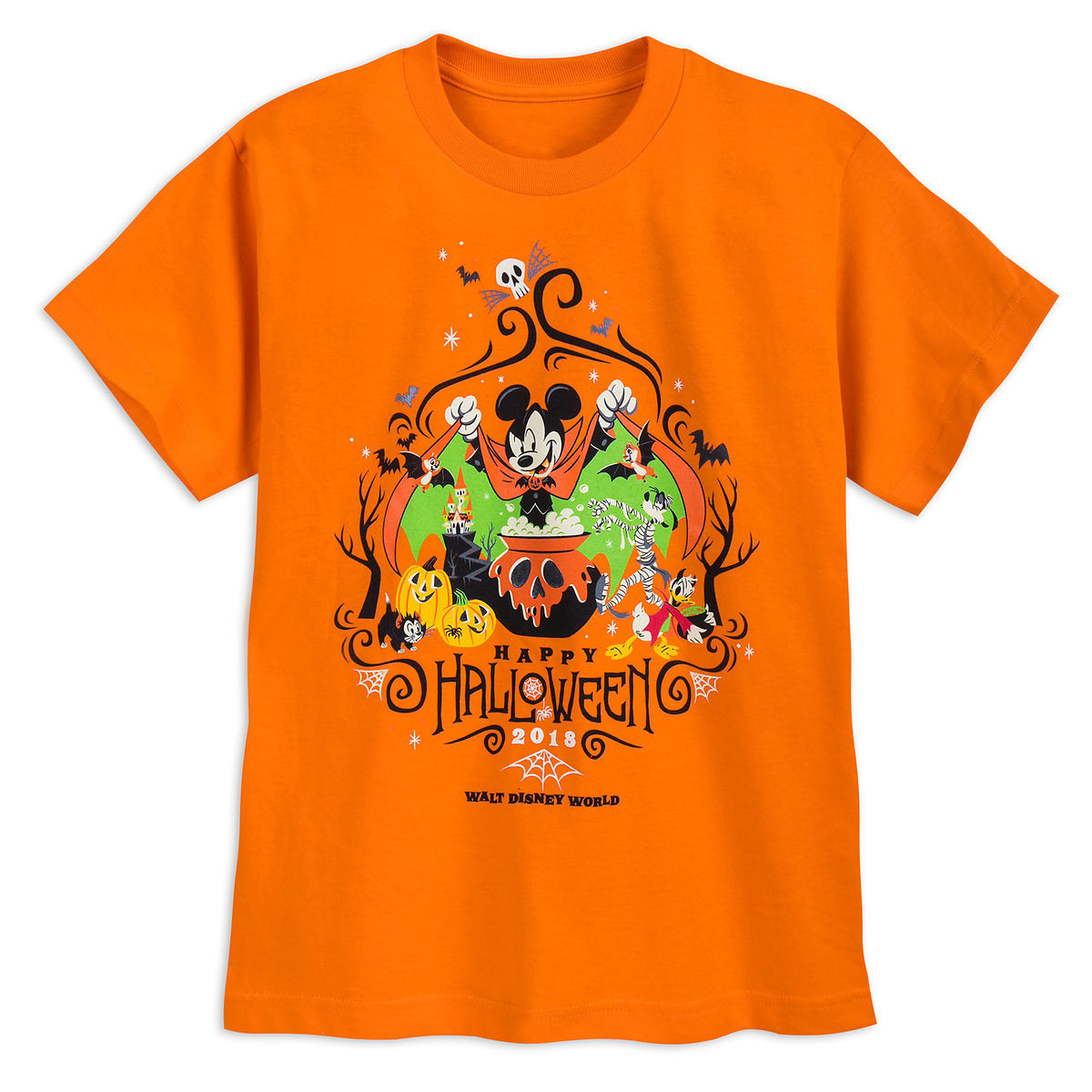 58a71493384 Product Image of Mickey Mouse and Friends Halloween T-Shirt for Kids - Walt  Disney