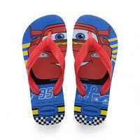 Image of Lightning McQueen Flip Flops for Kids by Havaianas # 1