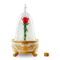 Image of Enchanted Rose Jewelry Box - Beauty and the Beast Live Action Film # 1