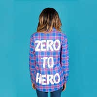 Image of Hercules Flannel Shirt for Adults by Cakeworthy # 5