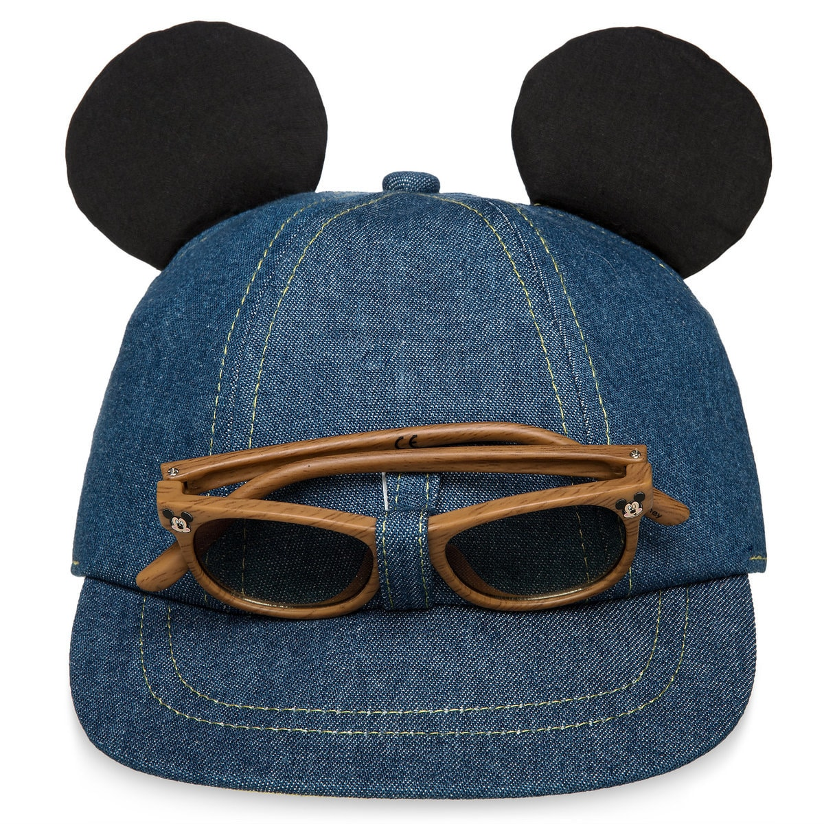 162368ab0e13d Product Image of Mickey Mouse Hat and Sunglasses Set for Baby   1