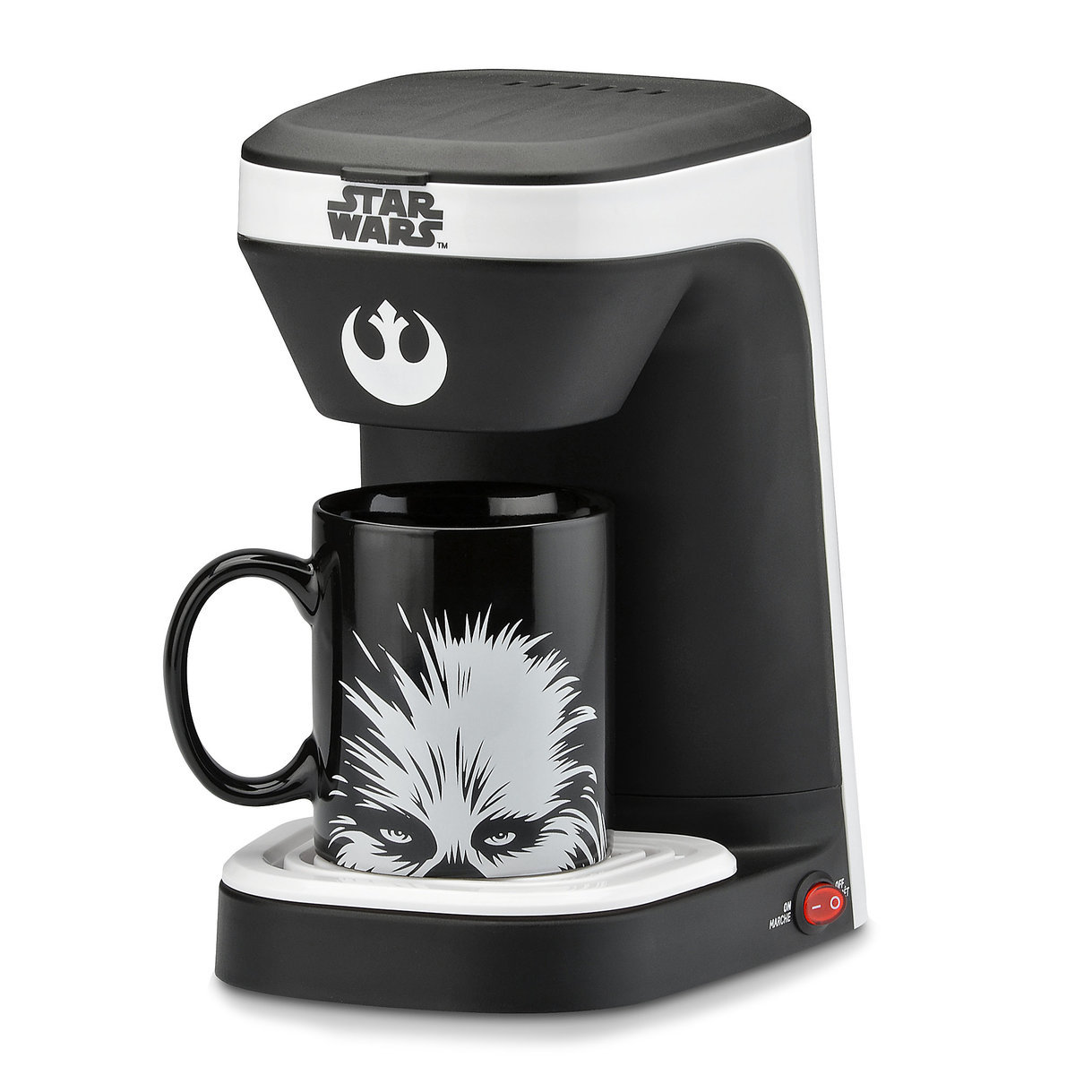 Chewbacca 1 Cup Coffee Maker Star Wars