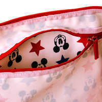 Image of Mickey Mouse Americana Canvas Tote # 3