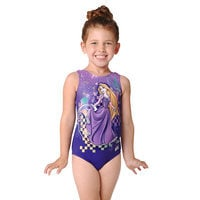 Rapunzel Leotard - Girls