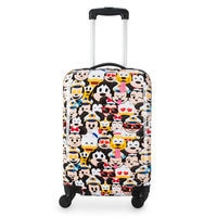 Image of Mickey Mouse and Friends Emoji Luggage - Disney Cruise Line # 1