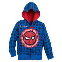 Image of Spider-Man Hoodie for Boys - Personalizable # 1