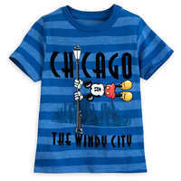 Image of Mickey Mouse Chicago T-Shirt for Boys # 1