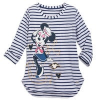 Image of Sailor Minnie Mouse Striped Top for Women - Disney Cruise Line # 1