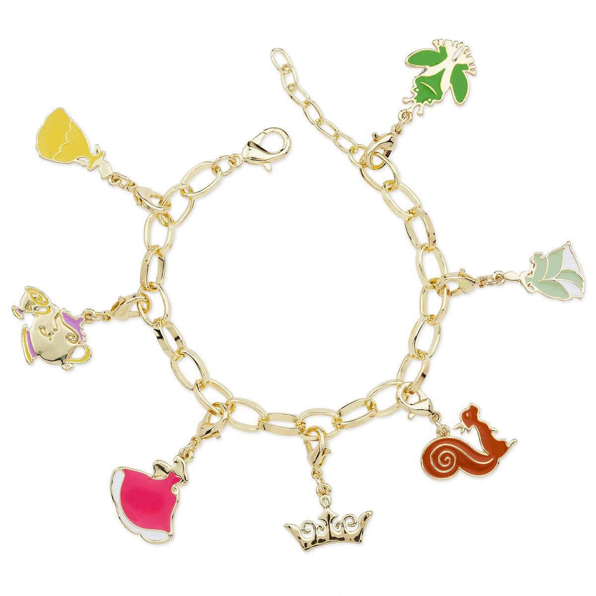 Product Image Of Disney Princess Charm Bracelet For Kids 1
