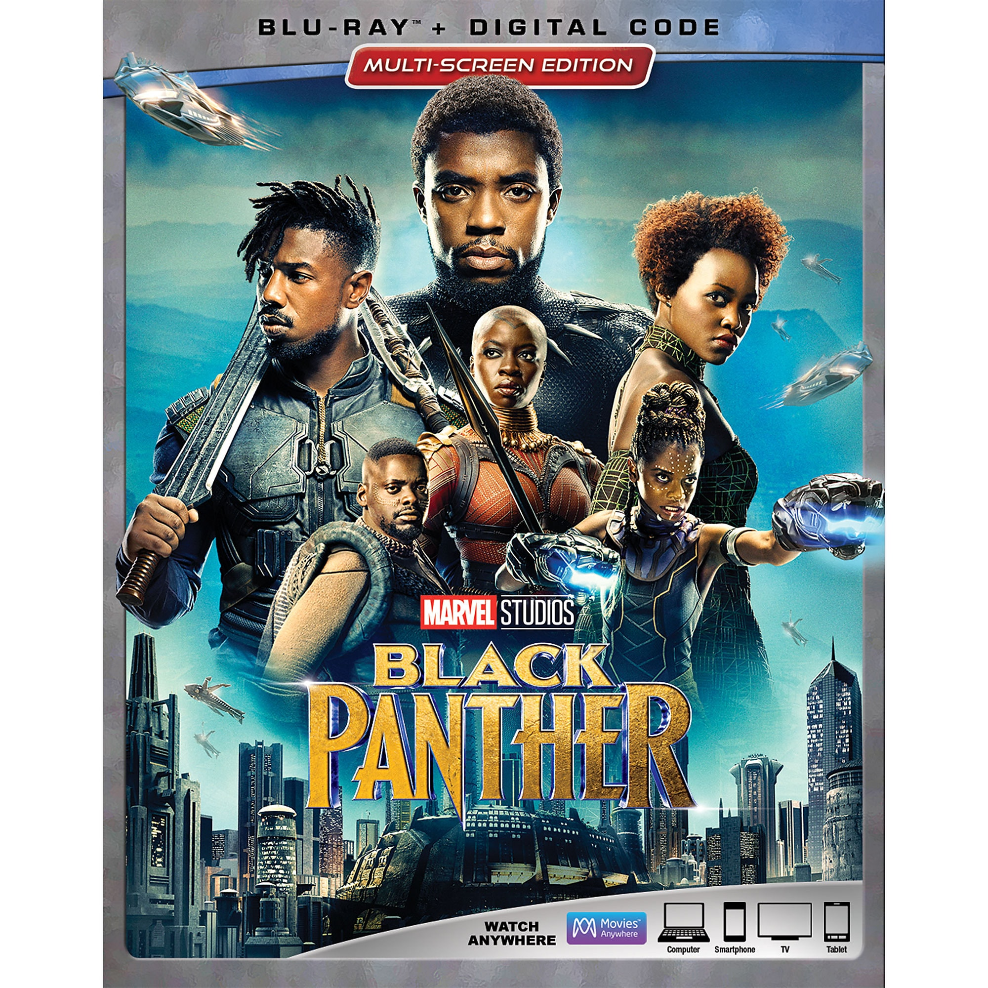 Black Panther Blu-ray Combo Pack Multi-Screen Edition | shopDisney