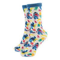 Image of Stitch Fruit Pattern Socks for Adults # 1