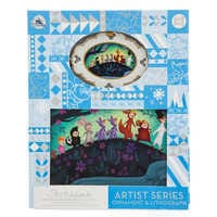 Image of Peter Pan Artist Series Sketchbook Ornament and Lithograph Set - Limited Edition # 2