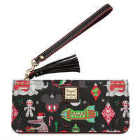 Image of Disney Parks Holiday Wristlet by Dooney & Bourke # 1