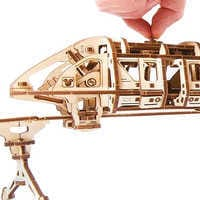 Image of Disney Parks Monorail Wooden Puzzle by UGears # 2