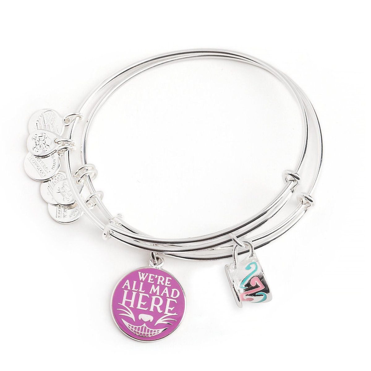 d9c4d976e Product Image of Cheshire Cat Mad Tea Party Bangle Set by Alex and Ani # 1