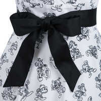 Image of Mickey Mouse Sketch Dress for Women # 3