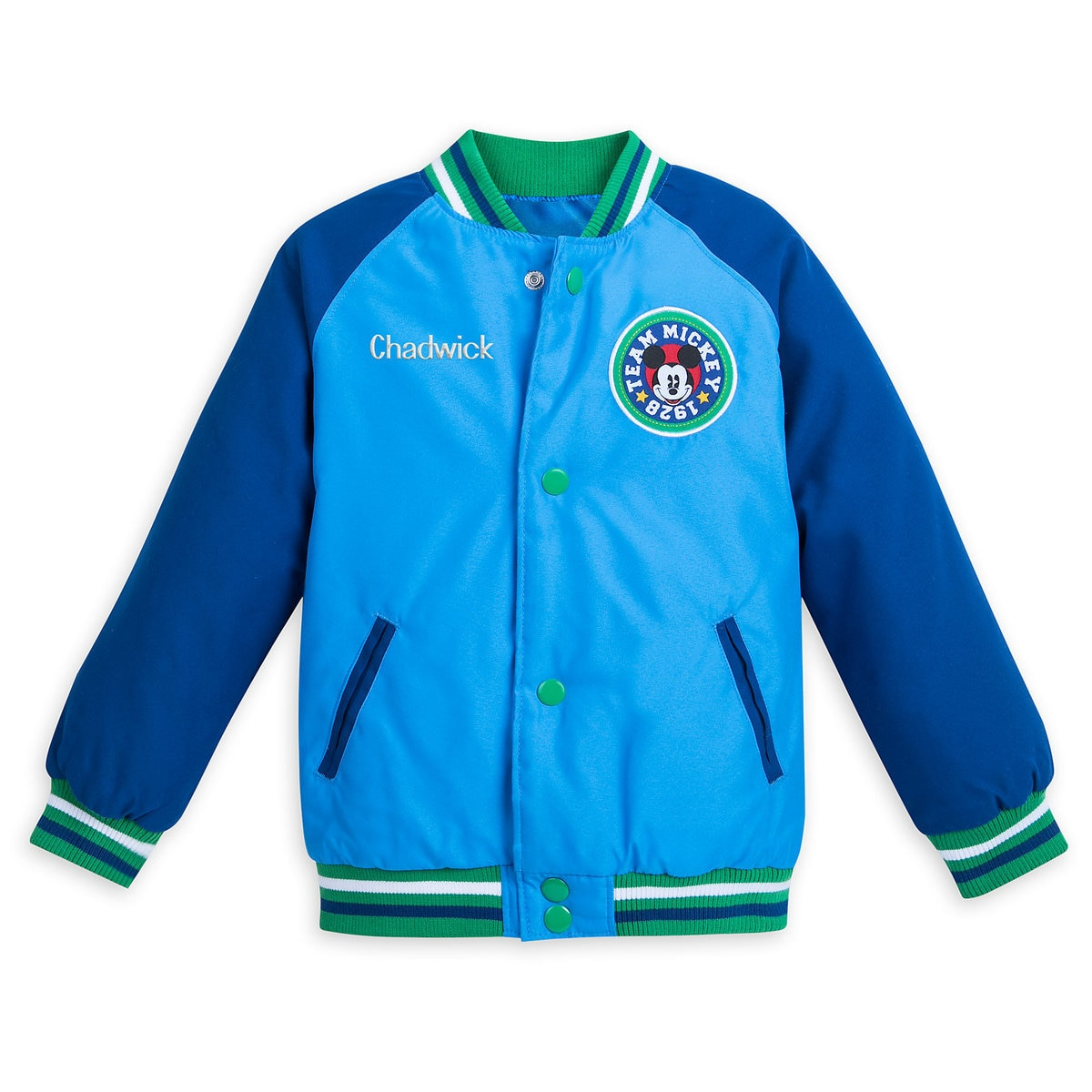 76e8429999575 Product Image of Mickey Mouse Varsity Jacket for Boys - Personalizable   1