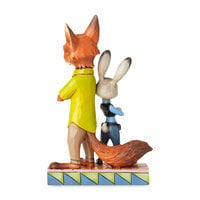 Judy Hopps and Nick Wilde ''Partners in Crime-Fighting'' Figure by Jim Shore - Zootopia