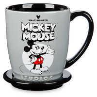 Image of Mickey and Minnie Mouse Mug and Coaster Set - Walt Disney Studios # 1