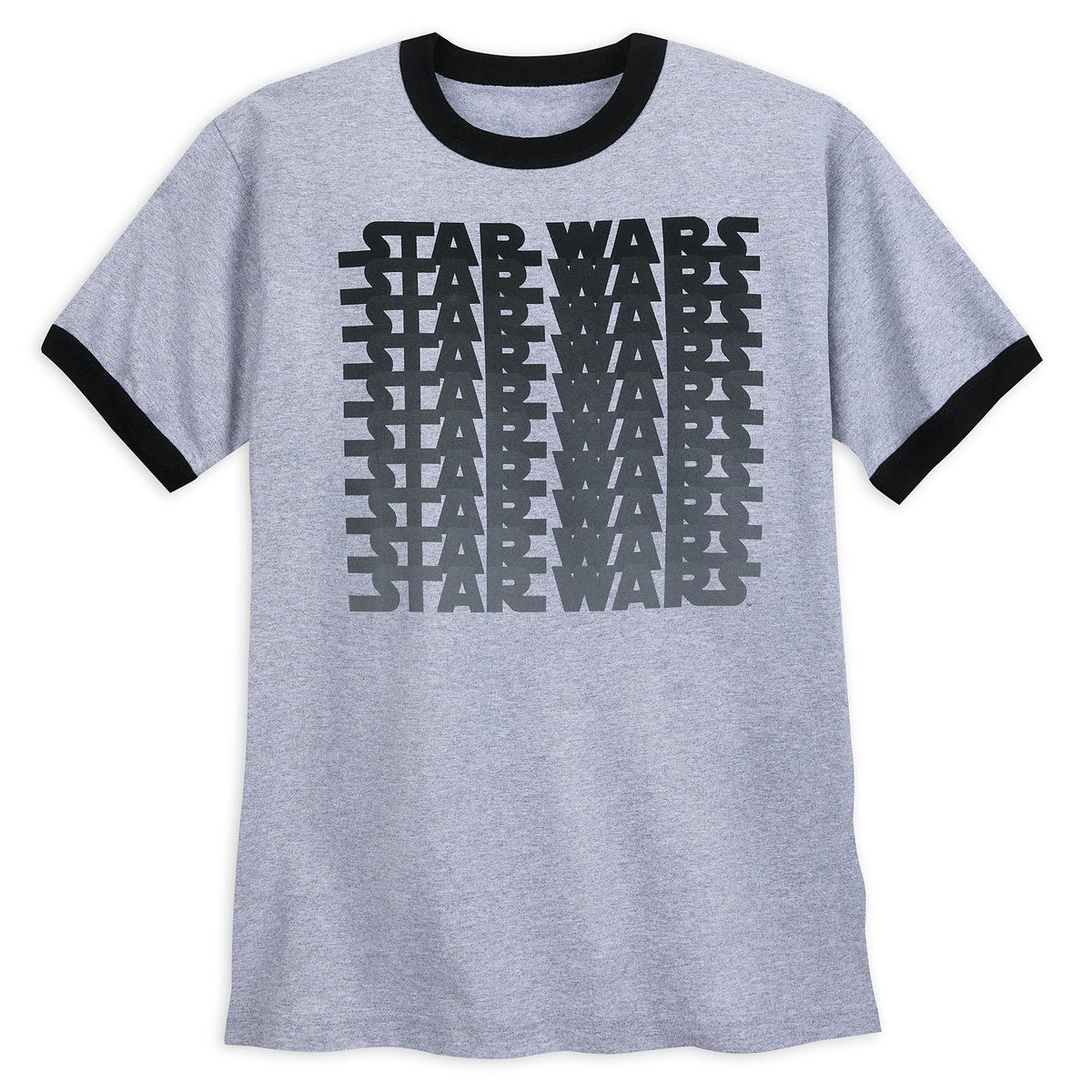 031ac582 Product Image of Star Wars Logo Ringer T-Shirt for Adults # 1