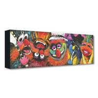 Image of The Muppets ''Electric Mayhem'' Giclée on Canvas by Stephen Fishwick # 1