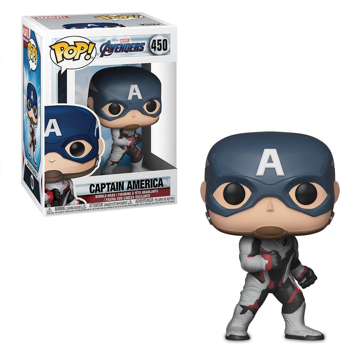 bad12f8c Product Image of Captain America Pop! Vinyl Bobble-Head Figure by Funko -  Marvel's