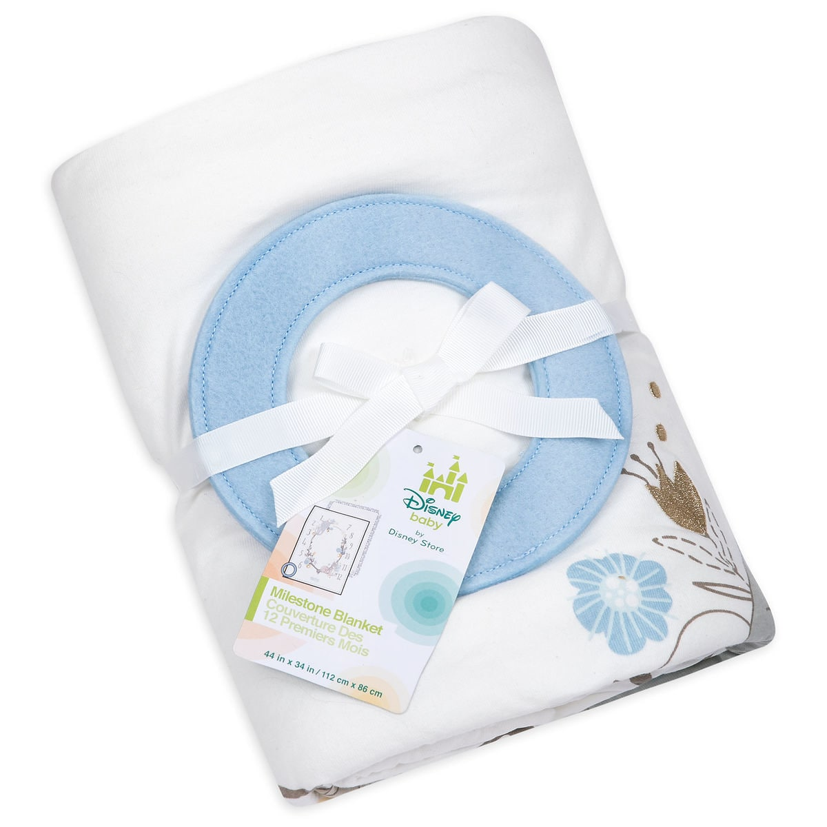 Disney Classics Milestone Blanket for Baby - Personalizable   shopDisney
