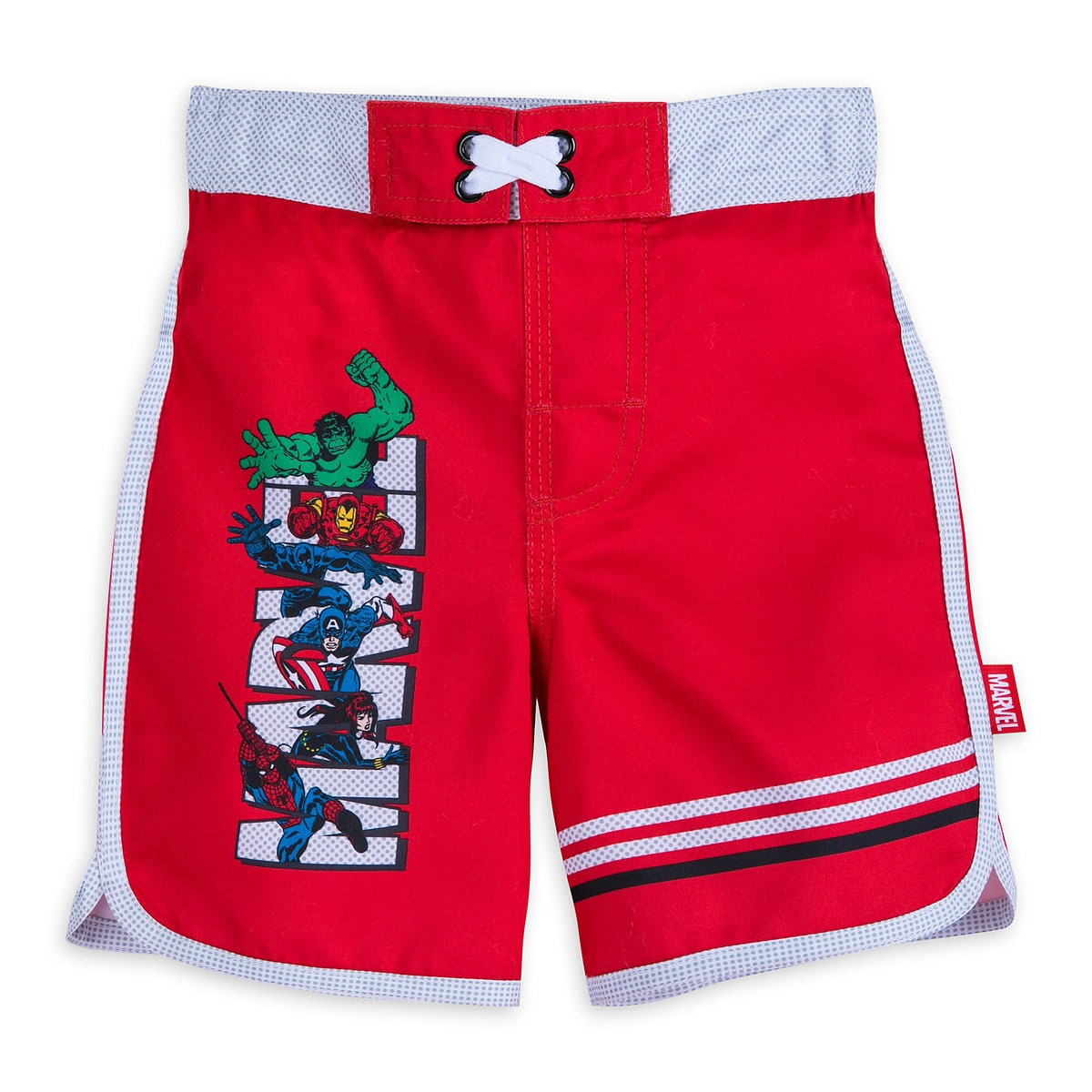 11d0a0ed24 Product Image of Avengers Swim Trunks for Boys # 1