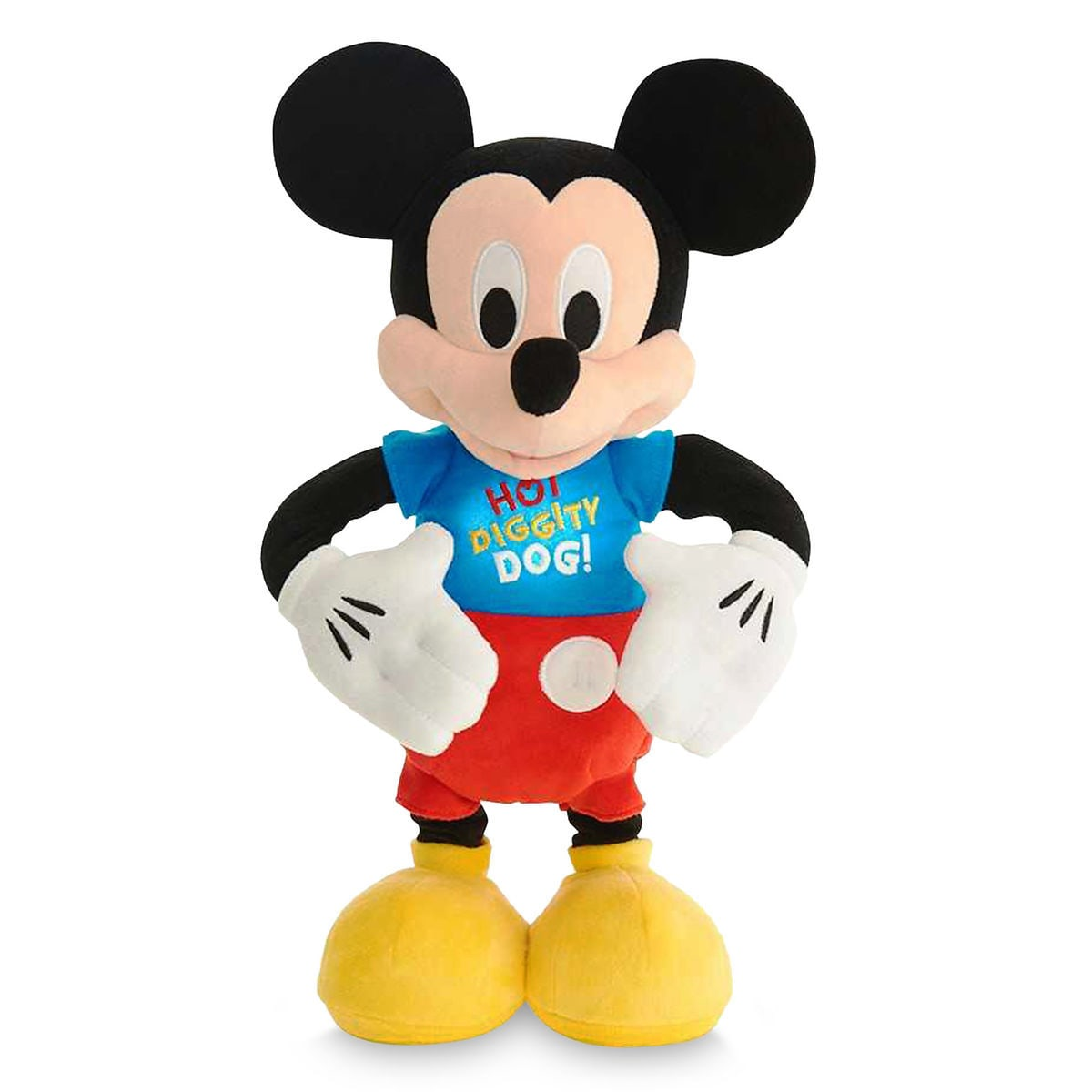 Mickey Mouse Hot Diggity Dance & Play Plush   shopDisney