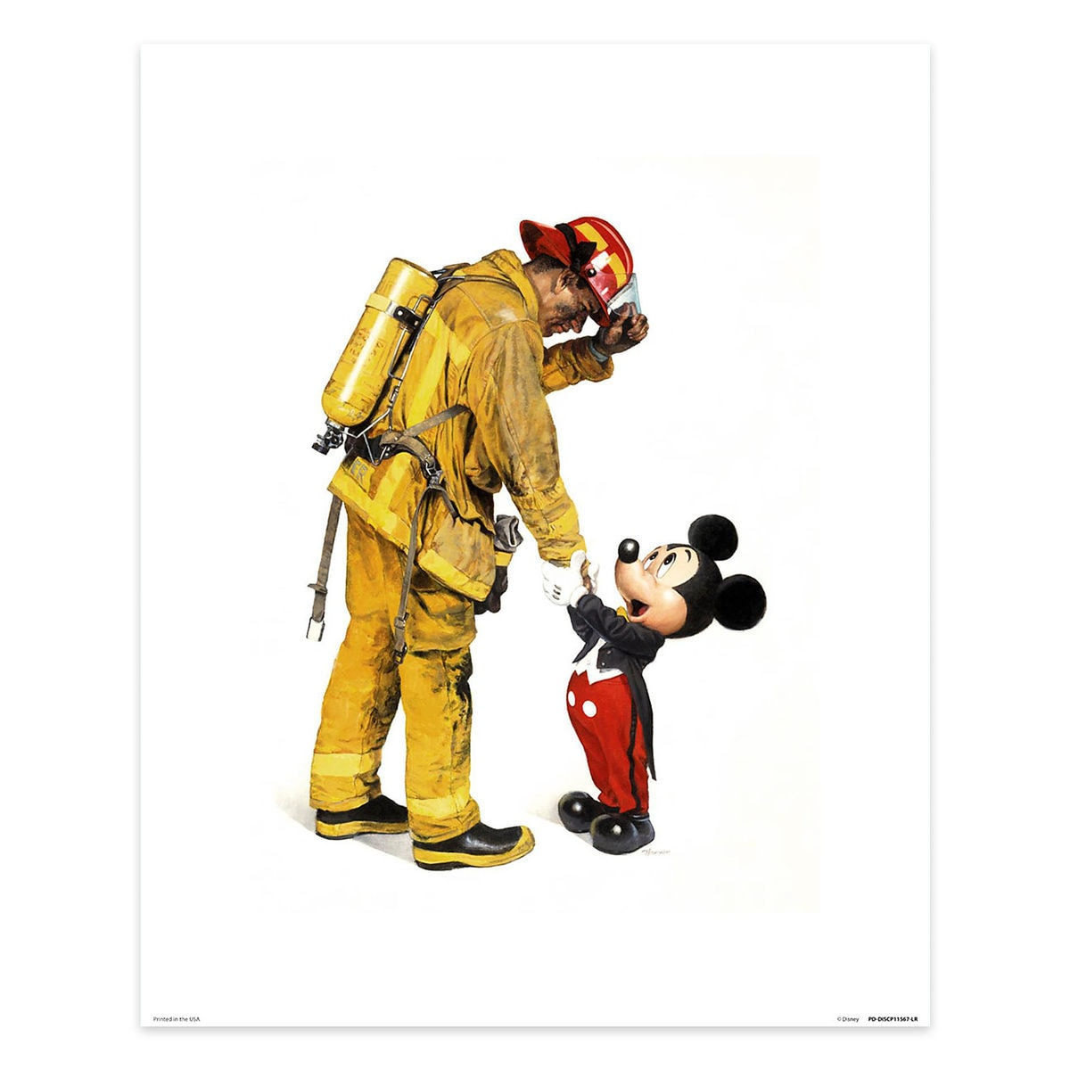 Mickey Mouse \'\'Mickey and the Fireman\'\' by Charles Boyer | shopDisney