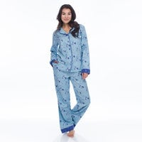 Lady and the Tramp Flannel Pajama Set for Women by Munki Munki®