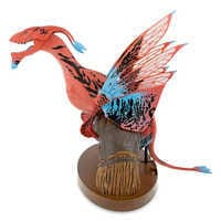 Image of Pandora - The World of Avatar Interactive Banshee Toy - Red/Blue Variant # 2