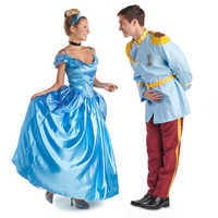 Image of Cinderella Prestige Costume for Adults by Disguise # 2