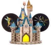 Image of Cinderella Castle Light-Up Ear Hat Ornament - Walt Disney World # 1