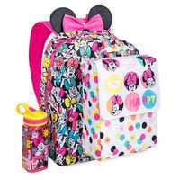 Image of Minnie Mouse Rainbow Backpack - Personalizable # 2