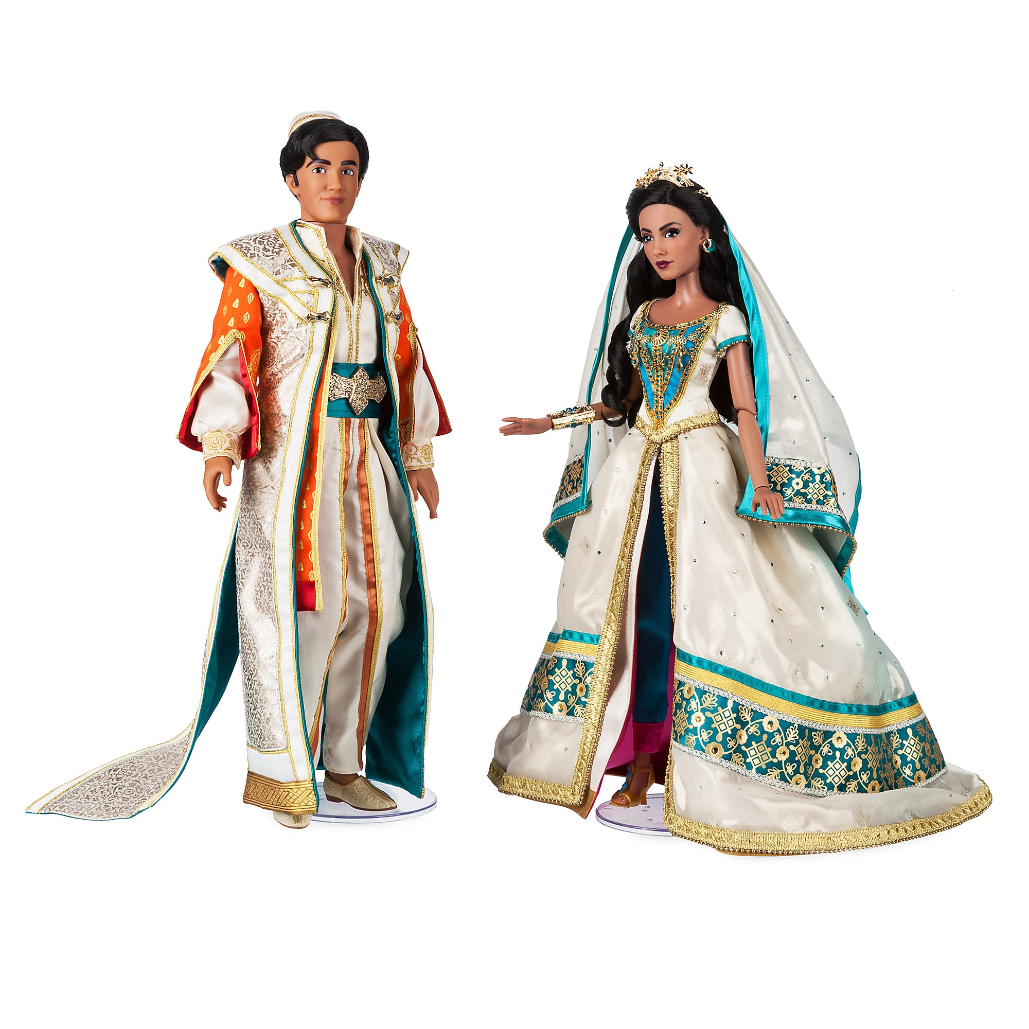 Wedding In White Film: Jasmine And Aladdin Limited Edition Doll Set