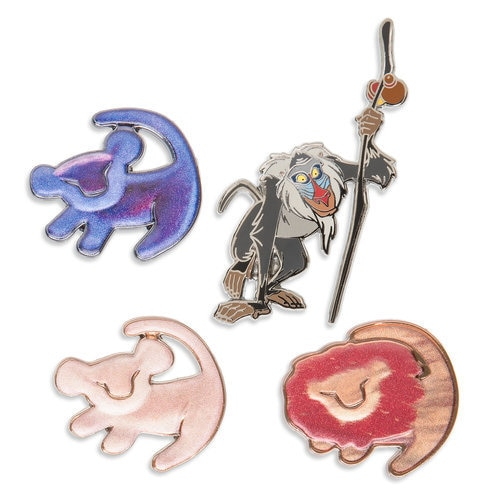 The Lion King 25th Anniversary Pin Set - Limited Edition