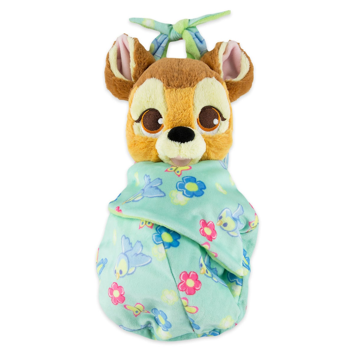 Bambi Plush With Blanket Pouch Disney Babies Small