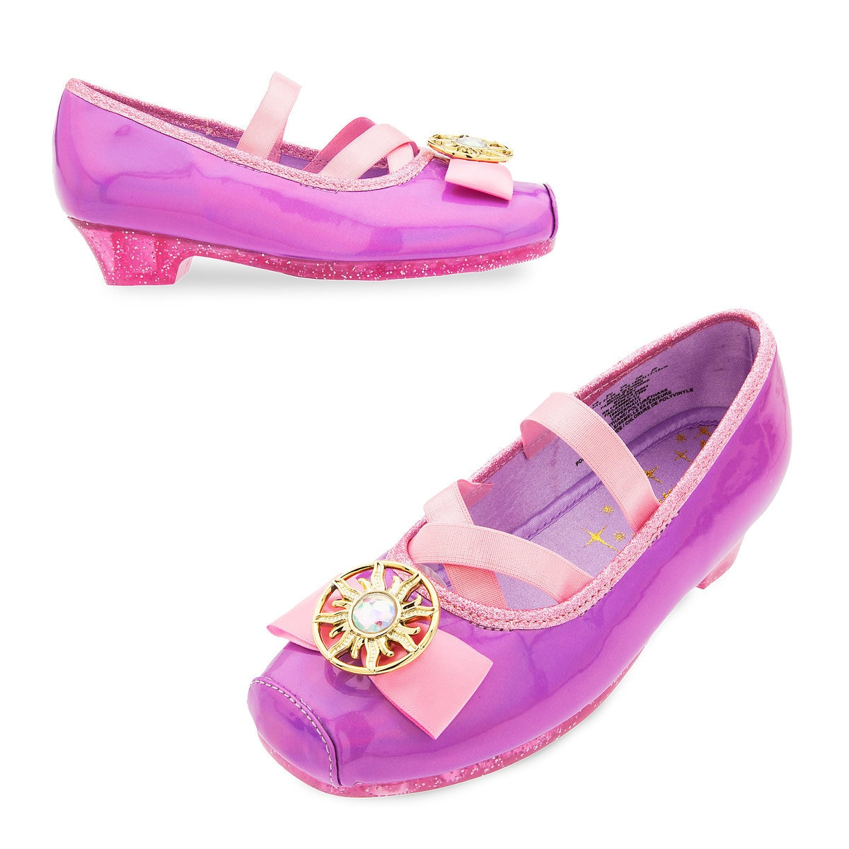 1bf727f44329 Product Image of Rapunzel Costume Shoes for Kids - Tangled   1