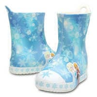 Image of Anna and Elsa Crocs™ Rain Boots for Girls # 4