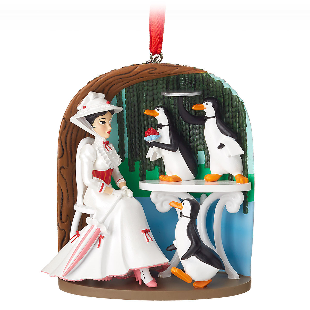 Product Image of Mary Poppins Jolly Holiday Sketchbook Ornament # 1
