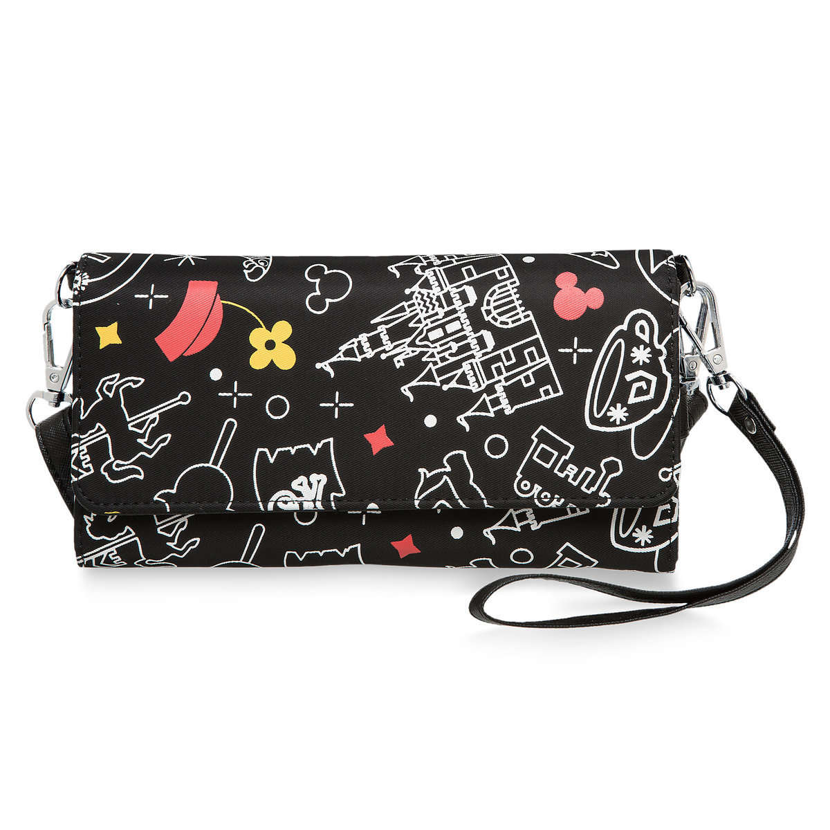 58b030d3a35 Product Image of Mickey and Minnie Mouse Disney Parks Wristlet   1