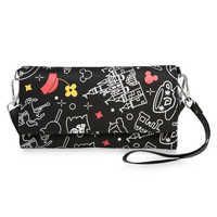 Image of Mickey and Minnie Mouse Disney Parks Wristlet # 1