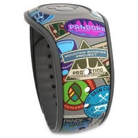 Image of Pandora: The World of Avatar Limited Edition MagicBand 2 - Travel Stamps # 2