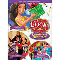 Image of Elena of Avalor: Celebrations to Remember DVD # 1