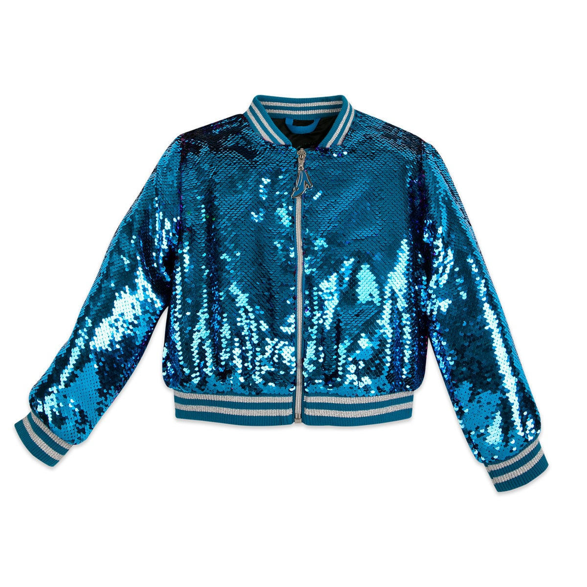 9aead0bd3021 Product Image of Cinderella Reversible Sequin Bomber Jacket for Girls # 1