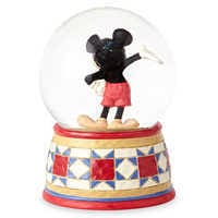 Image of Mickey Mouse ''The One and Only'' Snowglobe - Jim Shore # 2