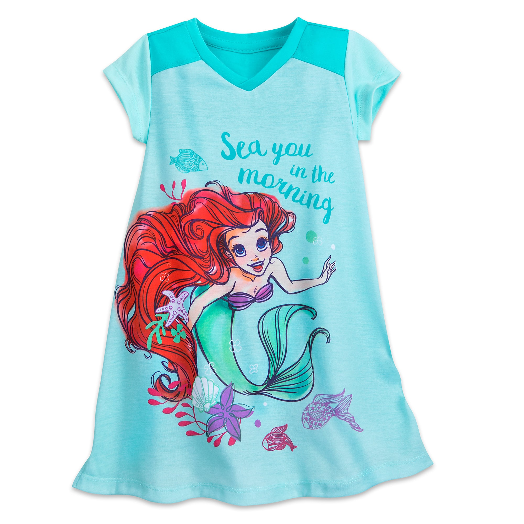 a99f13d9b8 Ariel Nightshirt for Girls