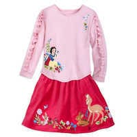 샵디즈니 여아용 Disney Snow White Skirt Set for Girls